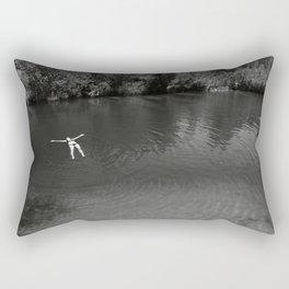 Embracing the moment Rectangular Pillow