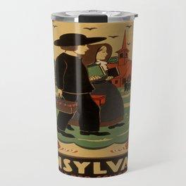 Vintage poster - Pennsylvania Travel Mug