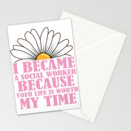Womens Social Worker Product Graduation Social Work Your Life Design Stationery Cards