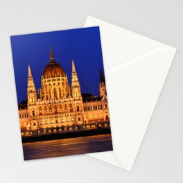 Panorama view of the famous Hungarian Parliament Stationery Cards