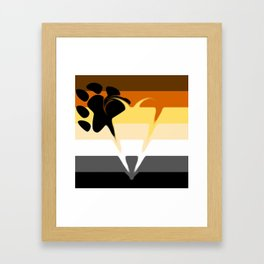 Bear Pride Framed Art Print