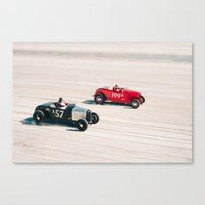 The Race of Gentlemen 7 Canvas Print