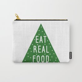 Eat Real Food Carry-All Pouch