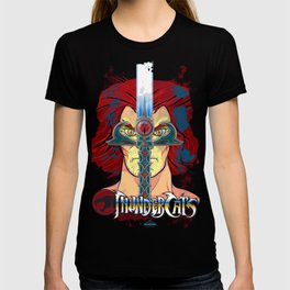 """Sight Beyond Sight"" Thunder Cats Sight Beyond Sight Liono and Sword of Omens T-shirt"