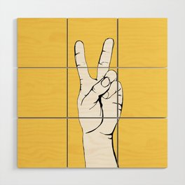 Peace I Wood Wall Art