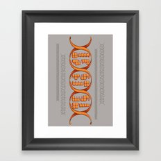 Gaming DNA Framed Art Print