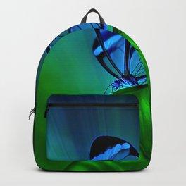 Green leaf watercolor Backpack