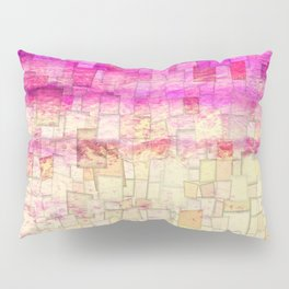 Pink Sea Mosaic Pillow Sham