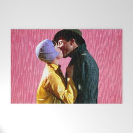 Singin' in the Rain - Pink Welcome Mat