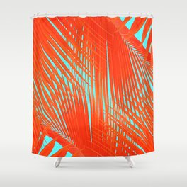 Flame Frenzy Shower Curtain