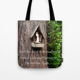 With the Lord... Tote Bag