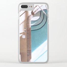 Indoor Pool Clear iPhone Case