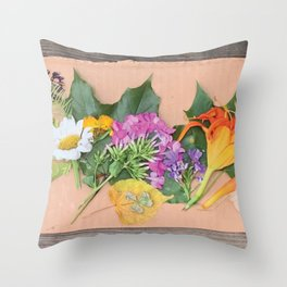 Annaliese's Nature Art Throw Pillow