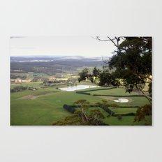 Landscape view from Mt.Bunninyoung - Australia Canvas Print