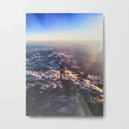 Floating Above Metal Print