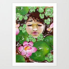 At Peace Art Print