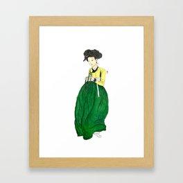 Mi-in-do 1700s_Solnekim Framed Art Print