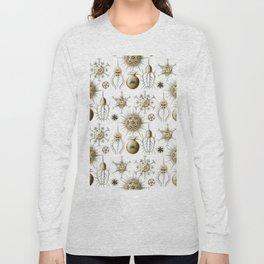 Ernst Haeckel - Phaeodaria Long Sleeve T-shirt