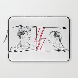 Divided (Sherlock and Jim) Laptop Sleeve