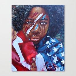Dear America II Canvas Print