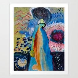 She is Power! Art Print