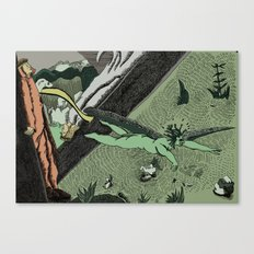 Dante Medusa Canvas Print
