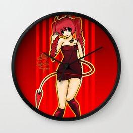 Lita Little Devil Wall Clock