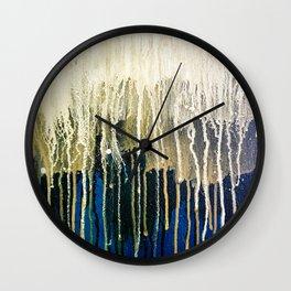 Irish Emerald Gold Wall Clock