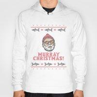 murray Hoodies featuring Murray Christmas! by nino benito