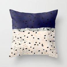 Raindots Throw Pillow