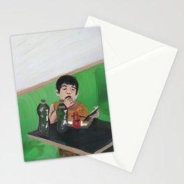 kiddie meal Stationery Cards