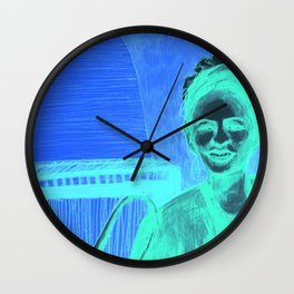 The vocalist Wall Clock