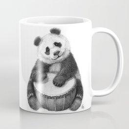 Panda playing percussion G140 Coffee Mug