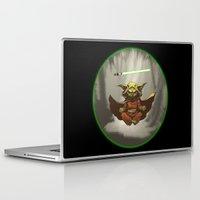 yoda Laptop & iPad Skins featuring Yoda by Marc Vuletich