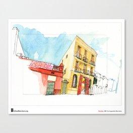 "Swasky, ""Sant Boi"" Canvas Print"