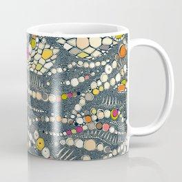 iguana skin indigo pop Coffee Mug