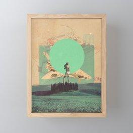 Hopes in Range Framed Mini Art Print