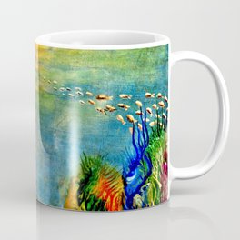 Fish Swarm Coffee Mug