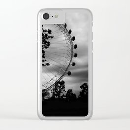 London Eye: Through The Trees Clear iPhone Case