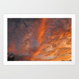 Moody Sky Art Print
