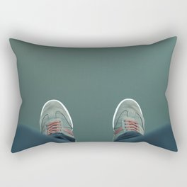 The green abyss Rectangular Pillow