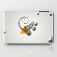 psychology iPad Cases featuring Archetypes Series: Elusiveness by Attitude Creative