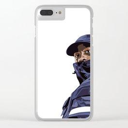 SKEPTA Clear iPhone Case