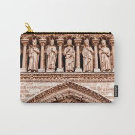 Notre Dame Mural Carry-All Pouch