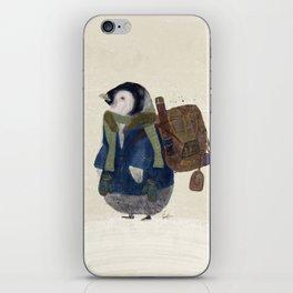 the little explorer iPhone Skin