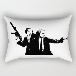 Chopin & Liszt - Gangsters Rectangular Pillow