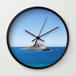 Rabbit Island Wall Clock