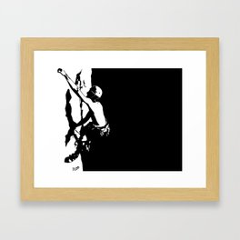 Climb Away Framed Art Print