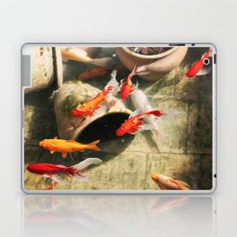 Koi Pond Laptop & iPad Skin