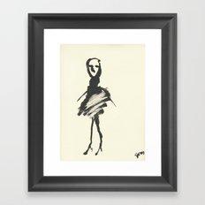 tell me your story Framed Art Print
